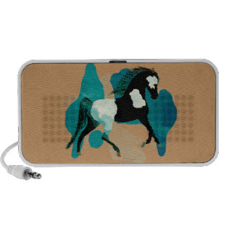 The Paint Horse Notebook Speakers