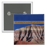 The Painted Desert Flagstaff Arizona 2 Inch Square Button