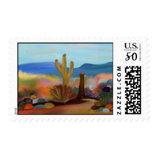 The Painted Desert Postage Stamps