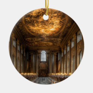 The Painted Hall, Greenwich London Ceramic Ornament