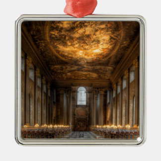 The Painted Hall, Greenwich London Metal Ornament