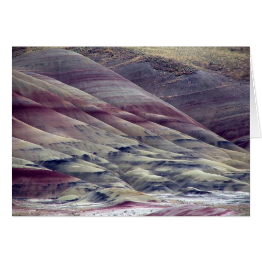 The Painted Hills Card