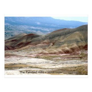 The Painted Hills Eastern Oregon Nature Art Photo Postcards