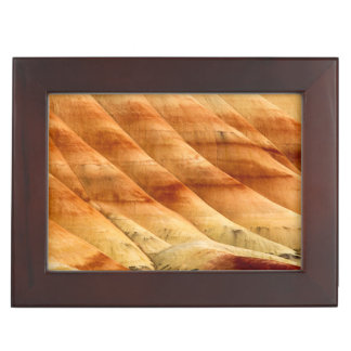 The Painted Hills In The John Day Fossil Beds 2 Keepsake Box