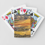 The Painted Hills In The John Day Fossil Beds 3 Bicycle Playing Cards