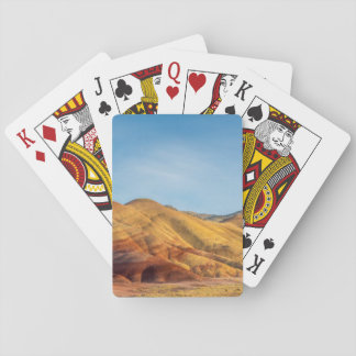 The Painted Hills In The John Day Fossil Beds Deck Of Cards