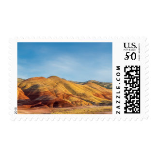 The Painted Hills In The John Day Fossil Beds Postage