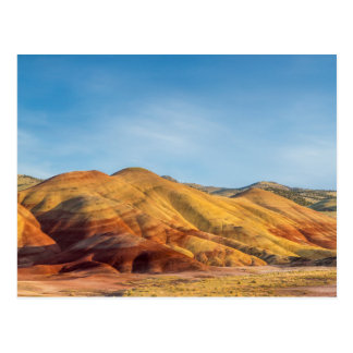 The Painted Hills In The John Day Fossil Beds Postcard