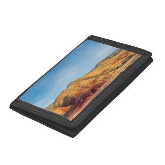The Painted Hills In The John Day Fossil Beds Tri-fold Wallets