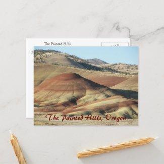 The Painted Hills, Oregon Postcard postcard