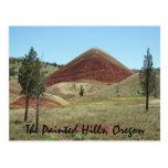 The Painted Hills, Oregon Postcard