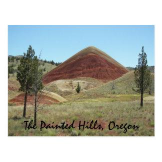 The Painted Hills, Oregon Travel Photo Postcard