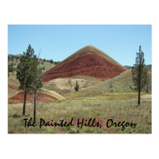 The Painted Hills, Oregon Travel Postcard