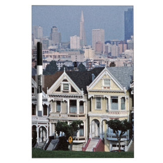 The Painted Ladies San Francisco Dry-Erase Board