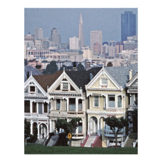 The Painted Ladies San Francisco Letterhead