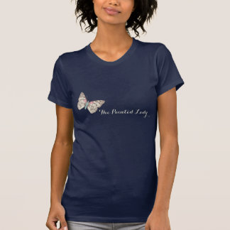 The painted lady butterfly inked t-shirt
