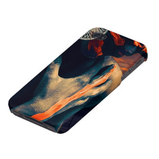 The Painted Lady of the Desert Sunset Case For iPhone 4