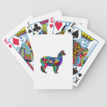 The Painted Llama Bicycle Playing Cards