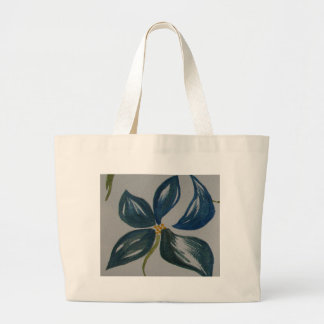 The painted petals tote bag