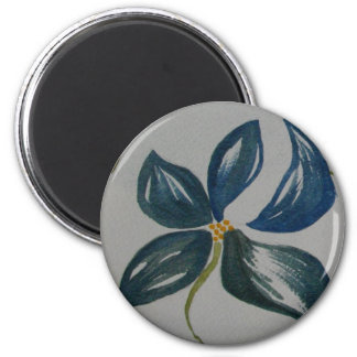 The painted petals magnet