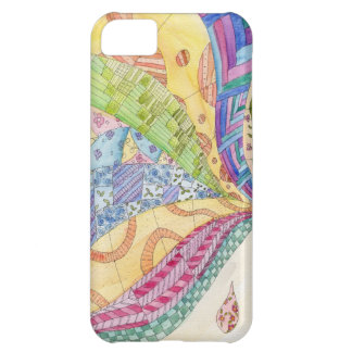 The Painted Quilt Cover For iPhone 5C