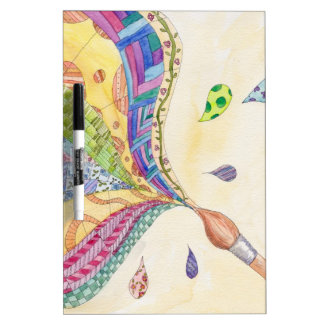 The Painted Quilt Dry-Erase Whiteboard