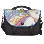 The Painted Quilt Laptop Messenger Bag