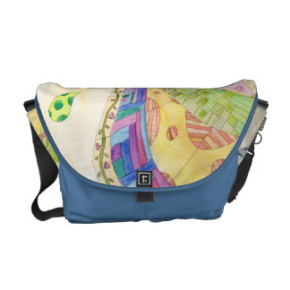 The Painted Quilt Messenger Bag