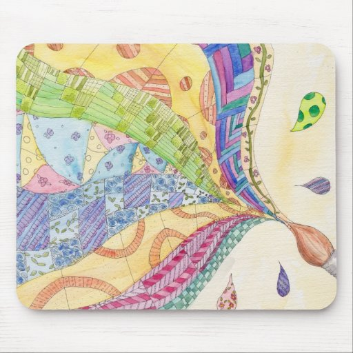The Painted Quilt Mouse Pad