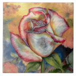 """THE PAINTED ROSE"" by CR SINCLAIR Tiles"