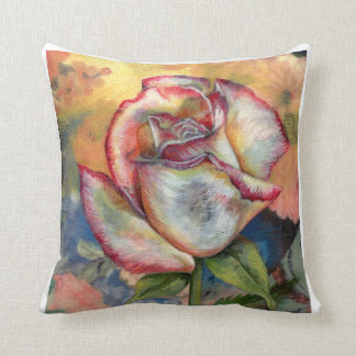 """""""THE PAINTED ROSE"""" PILLOWS"""