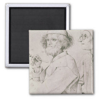 The Painter and the Art Lover Magnet