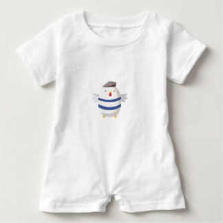 The Painter Bird Baby Romper
