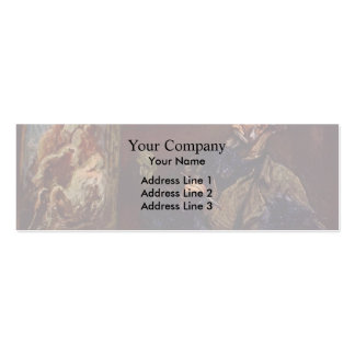 The Painter by Honore Daumier Business Card