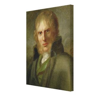 The Painter Caspar David Friedrich Canvas Print