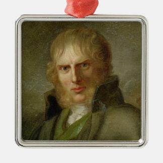 The Painter Caspar David Friedrich Metal Ornament