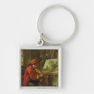 The Painter in his Studio Keychain