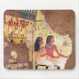 The painter Maie and his wife seated Mouse Pad