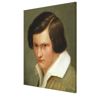 The Painter Otto Speckter , c.1831 Canvas Print