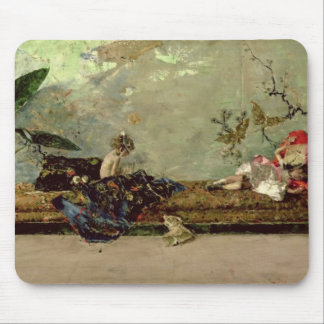 The Painter's Children in the Japanese Salon Mouse Pad