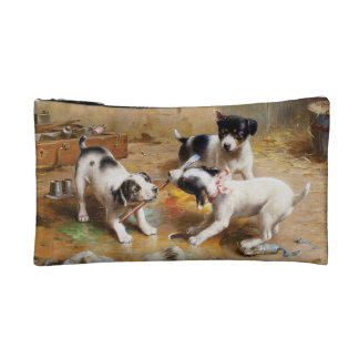 The Painters' Dispute by Carl Reichert Cosmetic Bag