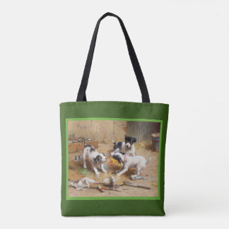 The Painters' Dispute by Carl Reichert Tote Bag