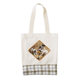 The Painters' Dispute by Carl Reichert Zazzle HEART Tote Bag
