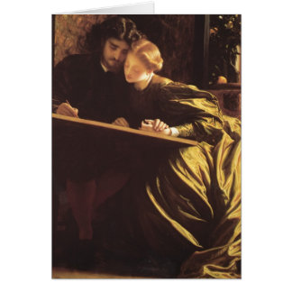 The Painter's Honeymoon by Frederic Leighton Greeting Card