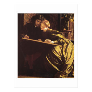 The Painter's Honeymoon - Lord Frederick Leighton Postcard