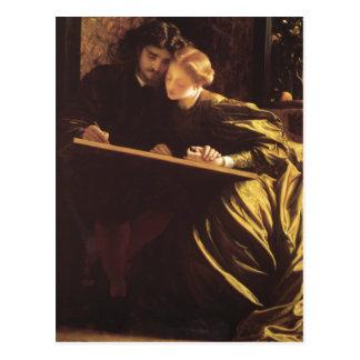 The Painter's Honeymoon - Lord Frederick Leighton Postcards