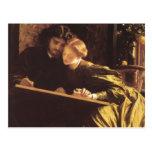 The Painters Honeymoon Postcard