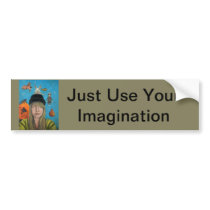 The Painting Maniac Bumper Sticker