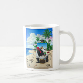 The Painting Pirate Coffee Mug