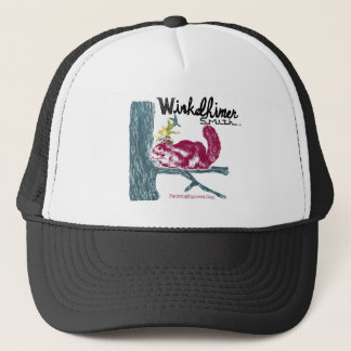 The Painting Squirrel,Winkelhimer Smith Trucker Hat